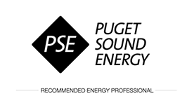 Puget Sound Energy recommended energy professional logo